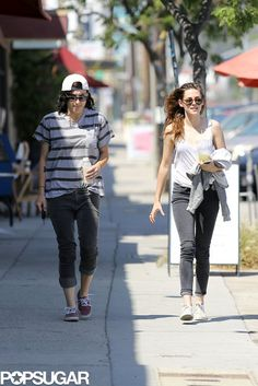 Kristen Stewart Chills Out With a Cold Drink: Kristen Stewart grabbed a cold drink in LA with a friend.