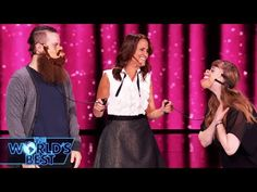 Ventriloquist Nina Conti Takes On 4 Voices - The World's Best Championships Nina Conti, Hilarious, Funny, The Voice, World, Youtube, Videos, Humor, Fashion