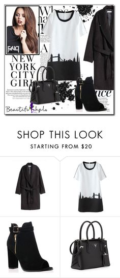 """Beautifulhalo II/36"" by ana-a-m ❤ liked on Polyvore featuring Anja, H&M and Prada"