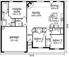 Plan #84-192 - Houseplans.com