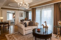 An exclusive peek into the luxurious rooms of the Waldorf Astoria Jerusalem hotel.