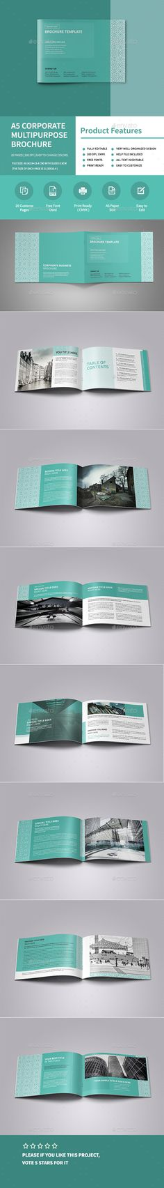 Landscape Architecture Brochure Brochures, Brochure template and - architecture brochure template