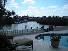 My uncle's former house on the inter-coastal in Jupiter, Florida