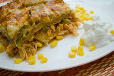 Se me antojó esta rica receta: Pastel Azteca con Yoghurt FAGE Total 0%