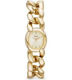 £78.00 FOSSIL - ES3460 Curator gold watch | Selfridges.com