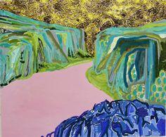 "Saatchi Art Artist Siofra Murdock; Painting, ""Fjord "" #art"