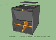 Home theaters som Skema box Hornsub 18 inch WONDER Subwoofer Box Design, Speaker Box Design, Sub Box Design, Diy Design, Loudspeaker Enclosure, Speaker Plans, Diy Speakers, Monitor Speakers, Free To Use Images