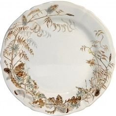 Gien Set of 6 Sologne Luncheon Plates