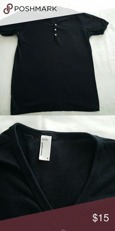 America Apparel black T-shirt Black American Apparel T-shirt,  never Dry  use & perfect condition American Apparel Shirts Tees - Short Sleeve