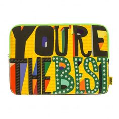 'YOU'RE THE BEST' Laptop Case
