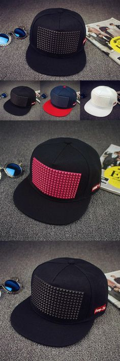 [Visit to Buy] 5 colors new hot sale Plastic triangle baseball cap hat hip hop cap flat-brimmed hat snapback cap hats for men and women #Advertisement