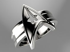 Star Trek Ring Size10 by Likesyrup