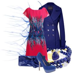 """""""Pink and Blue"""" by desert-diva on Polyvore"""