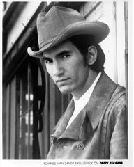 For the first 14-15 years of his life Townes Van Zandt was a happy, healthy, athletic young man from a prestigious background. As Guy Clark put it, He was being bred to be Governor of Texas seriously, it was that kind of family. In his mid to late teens he started to develop a bi-polar disorder and was diagnosed manic depressive with schizophrenic tendencies. By the age of 19 he was thought to be a danger to himself, a suicide/OD waiting to happen...