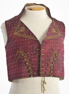 Waistcoat, first quarter of 19th century.
