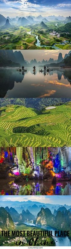 The Most Beautiful Place In China: Guilin