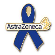 AstraZeneca awareness ribbon