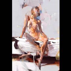 Senior Coconut (@milkformycoconut) • Φωτογραφίες και βίντεο στο Instagram Before Bed, Erotic Art, Figurative Art, Contemporary Art, Coconut, Statue, Fine Art, Nudes, Painting