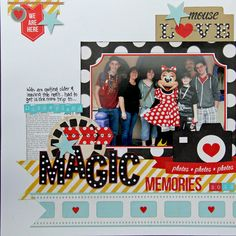 #papercraft #scrapbook #layout. Say Cheese