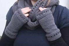 mitaine sans doigts à tricoter - Recherche Google
