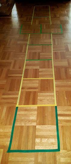 5hugs: Lernen: Multiplizier- und Dividier-Hüpfspiel