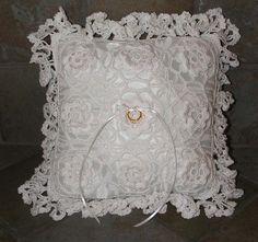 FREE Ring Bearer Pillow Crochet Pattern weddings crochet I