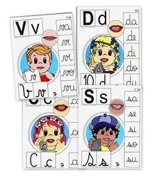 Recursos para el aula: Alfabeto Fonético Queremos enseñar como suenan las letras, las vocales y las consonantes. Enseñalas con estas fichas FICHAS Recuerda