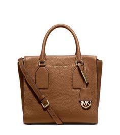 dc623b8f3ebdd0 Michael Kors Handbag Selby Medium Leather Satchel Shoulder Bag Tote for  sale online   eBay