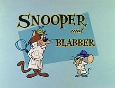 Snoopy and Blabbermouse