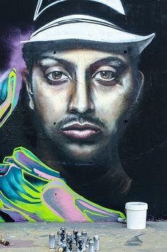 Mirada en el muro #graffiti #barcelona