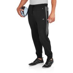 Russell Big Men's Performance Knit Jogger, Size: 2XL, Black