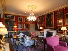 Red Drawing Room, Aldourie Castle, Aldourie Castle Estate(3), Loch Ness, Inverness, Jan 2013