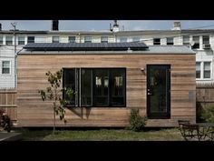 e62c3f5822b Minim House is a trailer-based microhome at the MicroShowcase in Washington  DC. Designed by Foundry Architects and Brian Levy