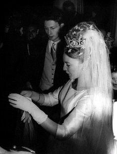 Carl, Duke of Württemberg married married Princess Diane of Orléans on 21 July 1960