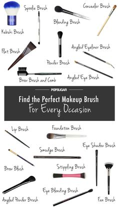 The perfect makeup brush for every occasion!