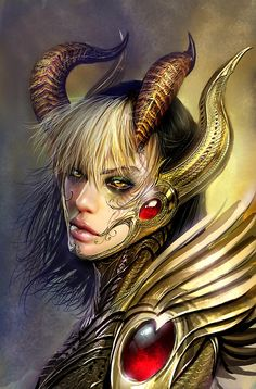 The Angelus is the Primal Force of Light that represents totalitarian order and purity. She is engaged in an eternal war with her polar opposite, the Darkness. However, the two forces are balanced by their offspring, the Witchblade. Fantasy Women, Dark Fantasy, Fantasy Art, Reine Art, Comic Books Art, Comic Art, Vampires, The Darkness, Top Cow