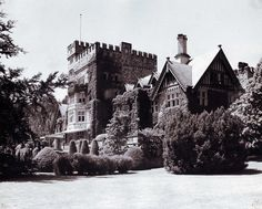 Hatley Castle, circa 1943. Beautiful then, beautiful now.http://ow.ly/DeGQ1  #TBT #throwbackthursday