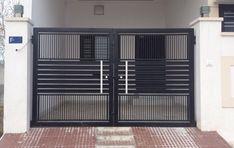 Grill Gate Design, House Main Gates Design, Front Gate Design, Door Gate Design, House Design, Gate Designs Modern, Modern Design, Tall Cabinet Storage, Locker Storage