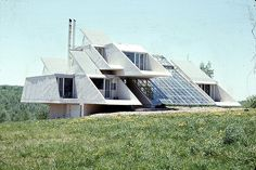 Paul Rudolph, Green Residence. Architecture.