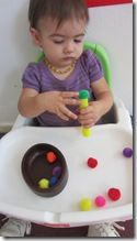 some great independent activities for 1 year olds & art birthday party