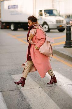 Street Style at New York Fashion Week Fall/Winter 2018