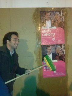 Defendiendo los derechos de todos para 2015, Blas Sánchez en Mijas con Upyd