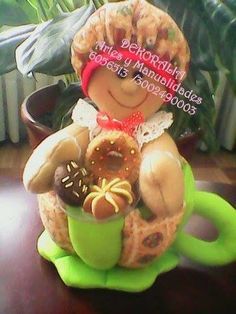Soft Sculpture, Tea Party, Gingerbread, Decoupage, Projects To Try, Snoopy, Dolls, Christmas Ornaments, Holiday Decor