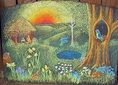 Resultado de imagem para pintura waldorf são joão