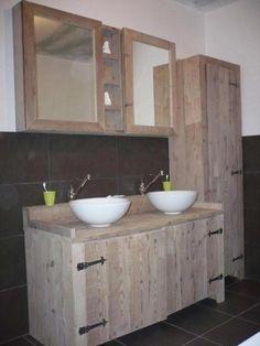 Zelf badkamermeubel maken steigerhout loungeset 2017 - Quoi faire avec des palettes en bois ...