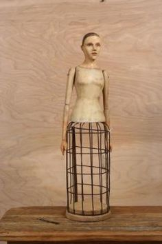 Cage Doll (white)