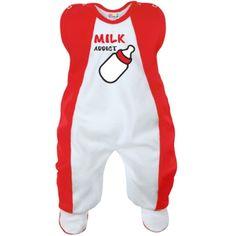 Grenouillère bébé originale : MILK ADDICT