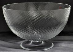 Large Carlo Moretti Murano Rigadin Bowl Lot 101 | eBay