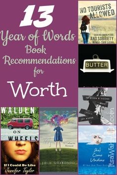13 Year of Words Book Club Recommendations for the word Worth ItsaWahmLife.com: