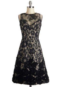 Gorgeous black lace dress